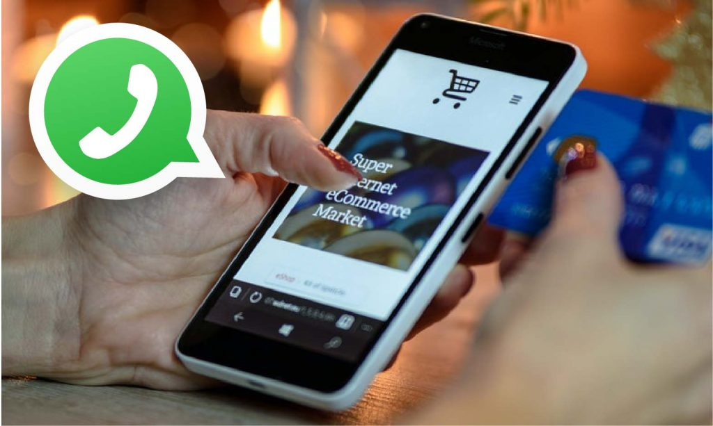 Achat en ligne - whatsapp - Formation ecommerce en ligne