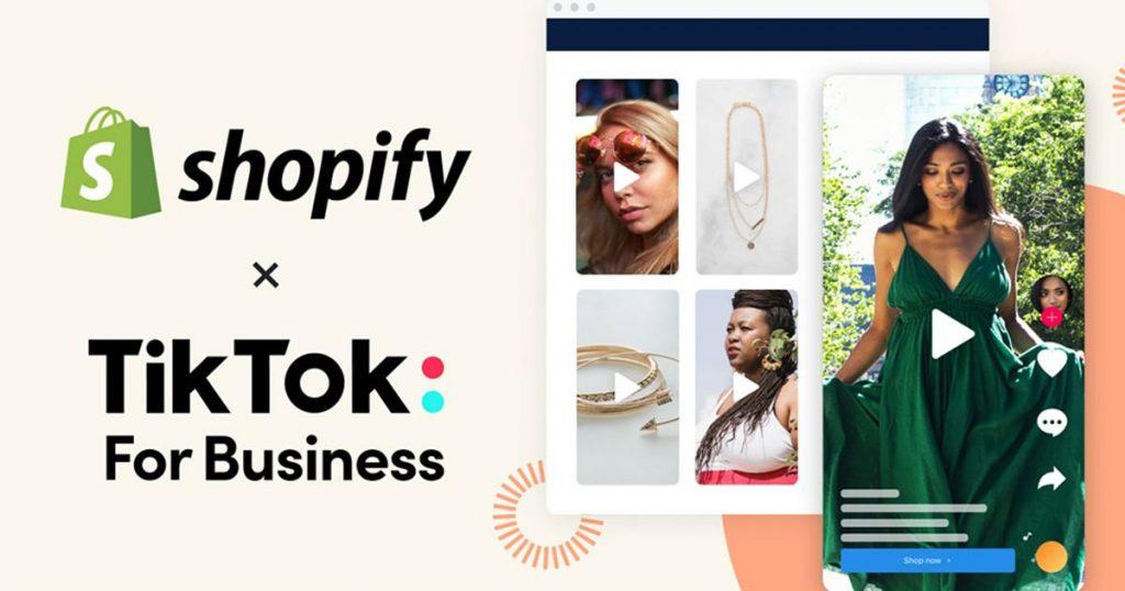 tiktok-shopify-partenariat